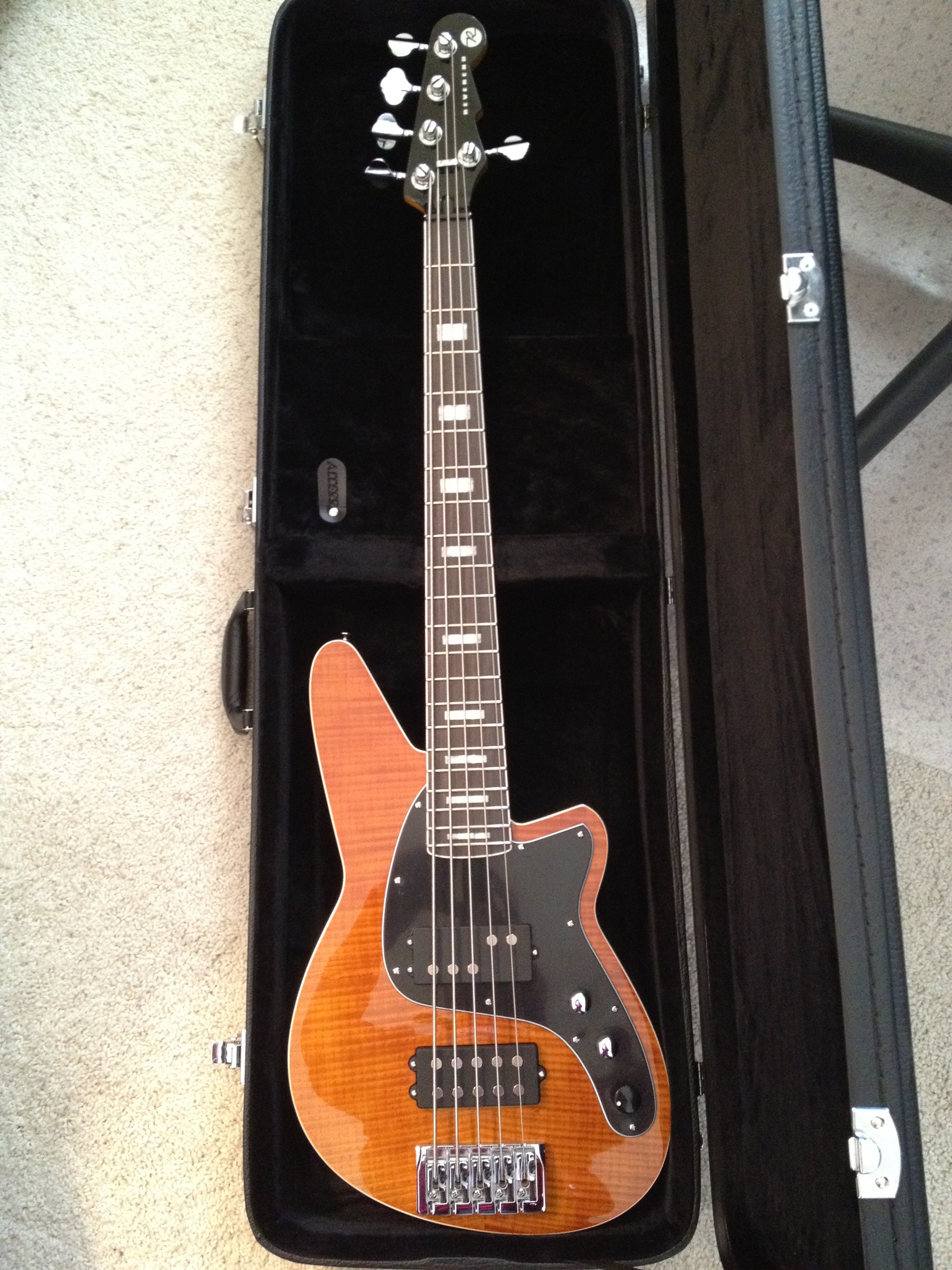 Reverend Mercalli 5 bass in case
