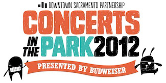 Concerts in the Park 2012 logo