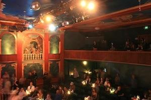 Interior of the 142 Throckmorton Theatre