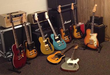 Steve Amaral's Reverend guitars
