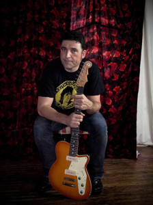 Steve Amaral and his first Reverend Charger 290