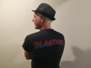 Blasters shirt back