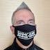 TNS logo COVID-19 face mask